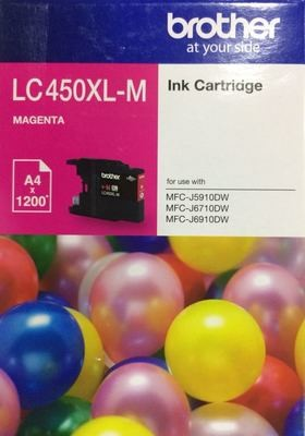 Brother LC450XL Ink Cartridge, Magenta