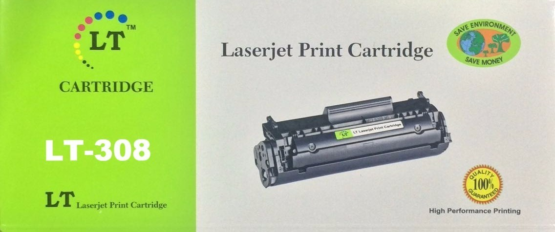 LT 308 Toner Cartridge, Black