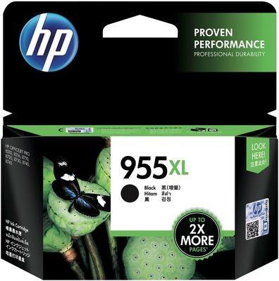 HP 955XL Ink Cartridge, Black