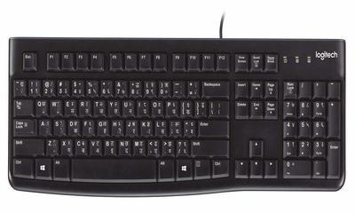 Logitech K120 USB Keyboard, Hindi & English
