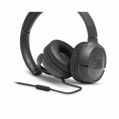 JBL Tune 500 on-ear Headphones, Black