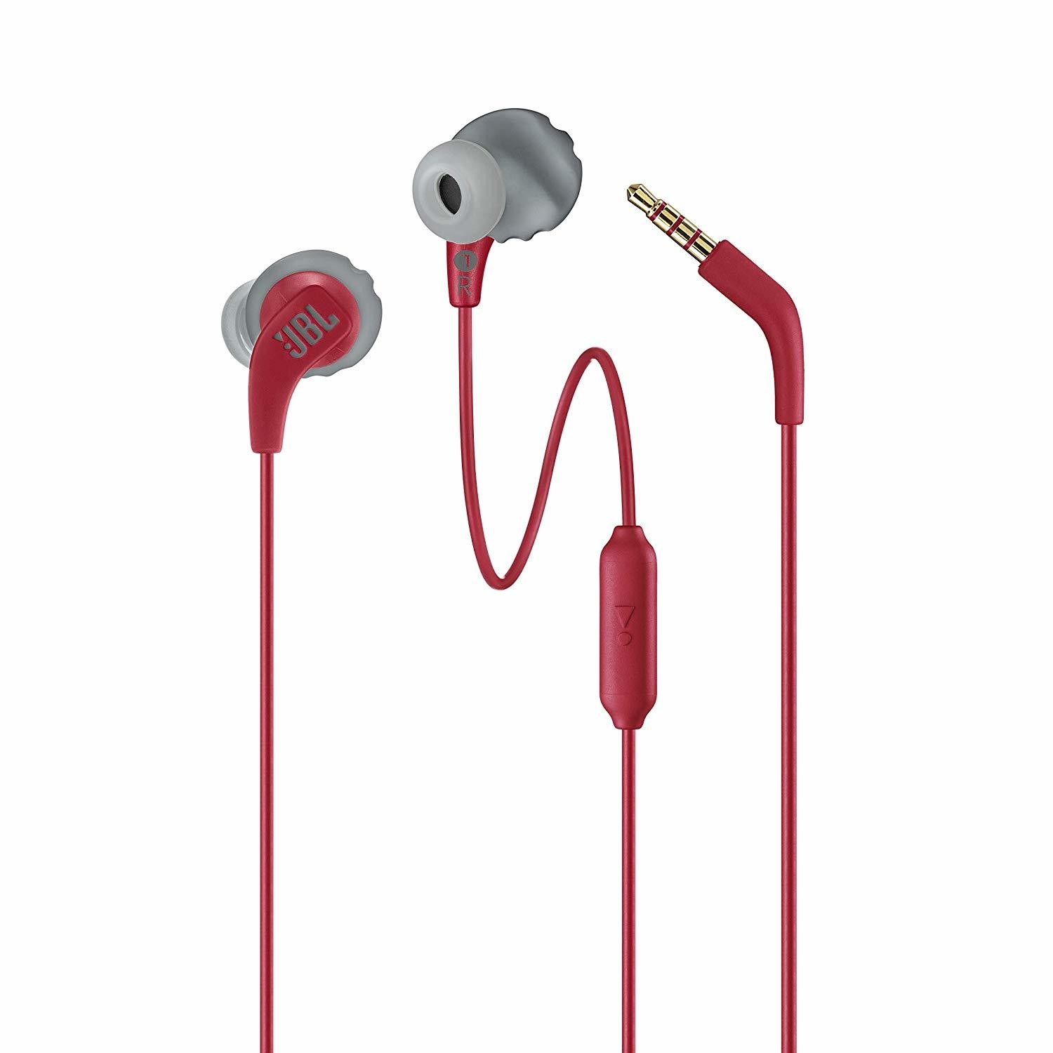 JBL Endurance Run in-Ear Headphones-Red