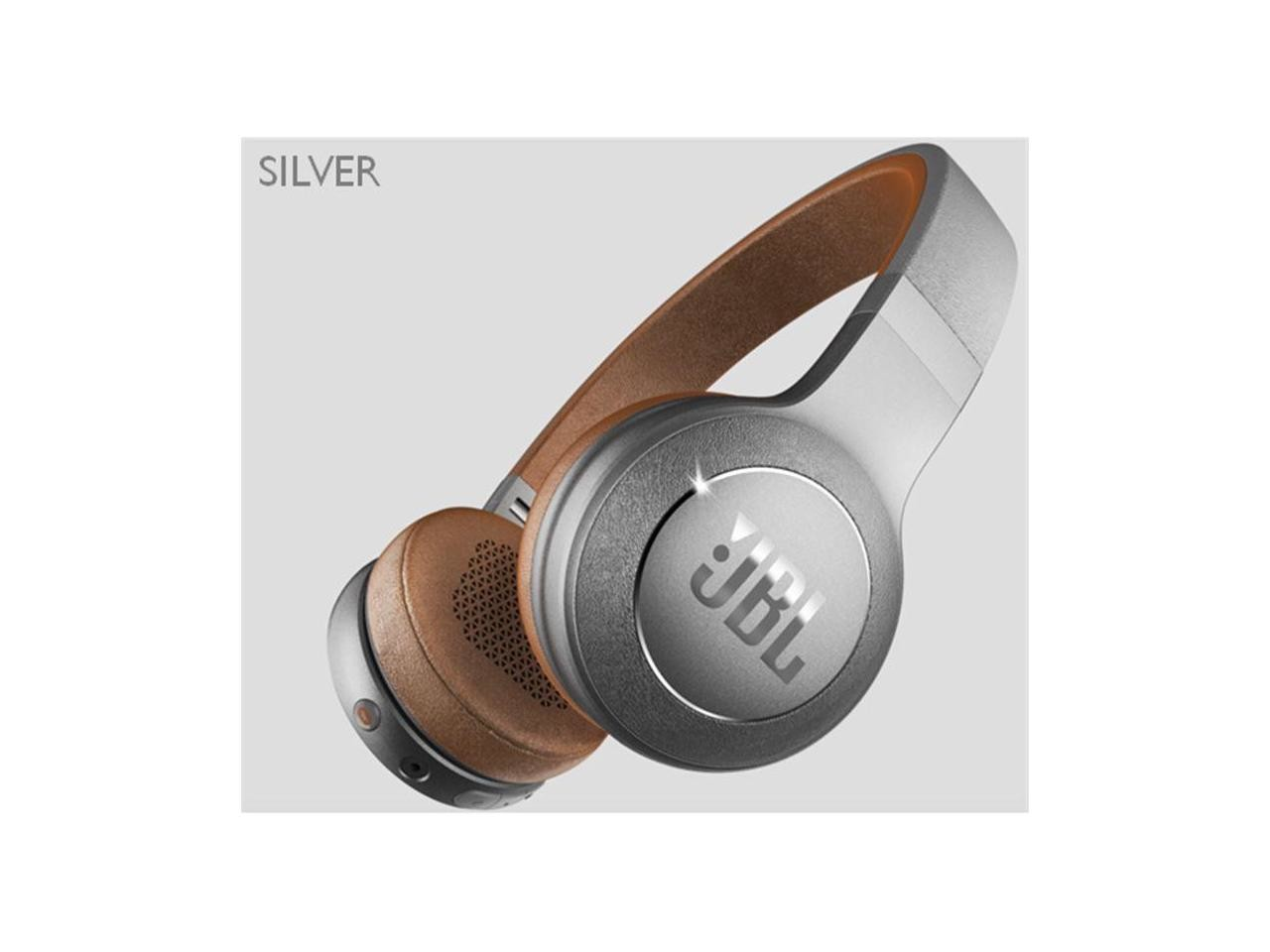JBL Duet Bluetooth Wireless On-Ear Headphones-Silver