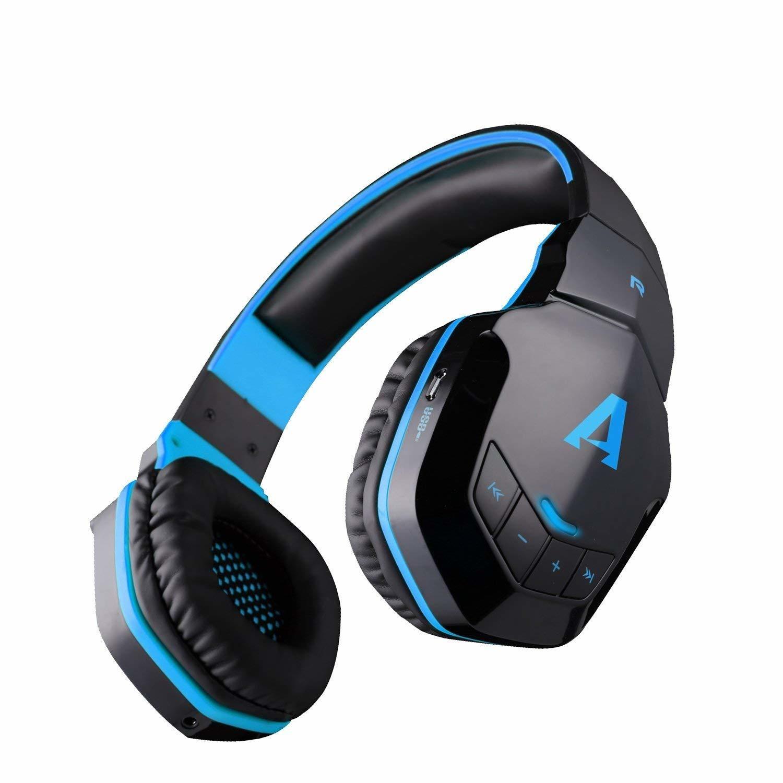 Boat Rockerz 510 Wireless Bluetooth Headphones, Blue