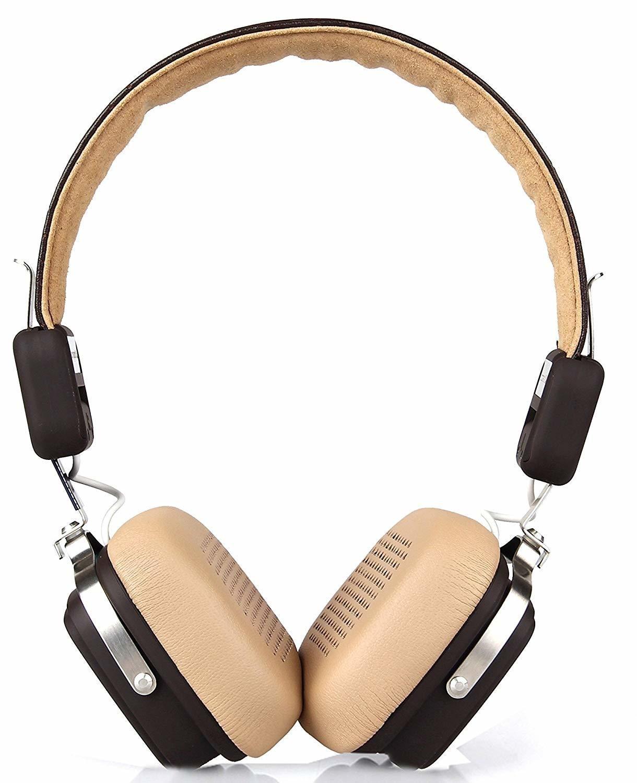 Boat Rockerz 600 Over Ear Wireless Headphones-Brown
