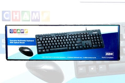TVS Champ Multimedia Keyboard Mouse