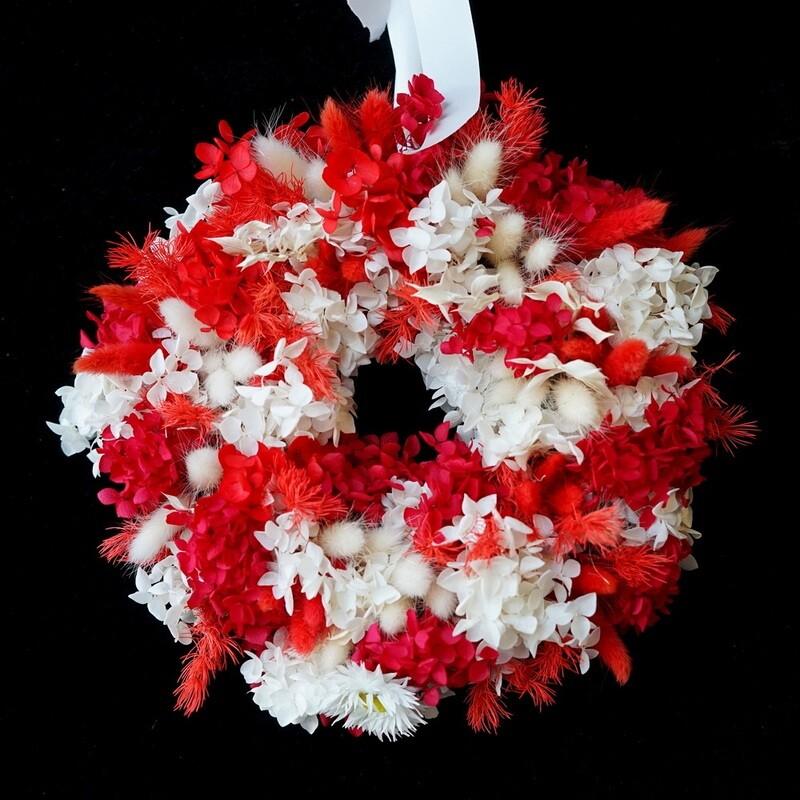 Redfern Christmas wreath