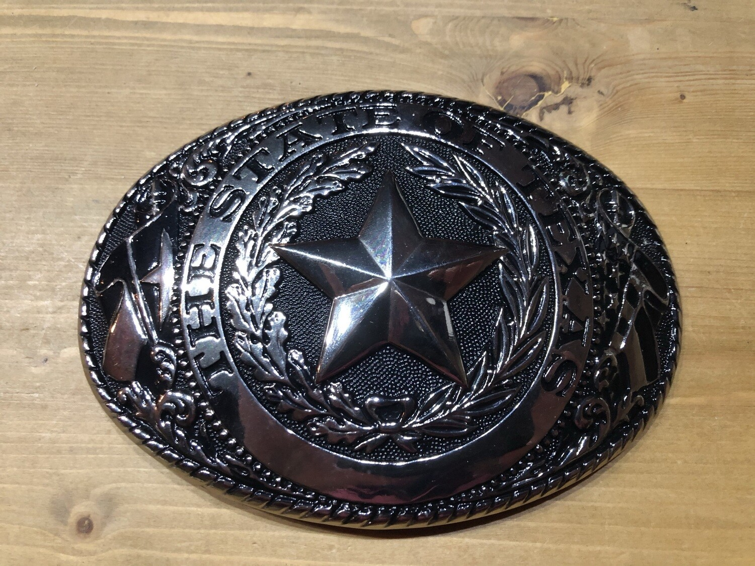 "Buckle ""The state of Texas"""