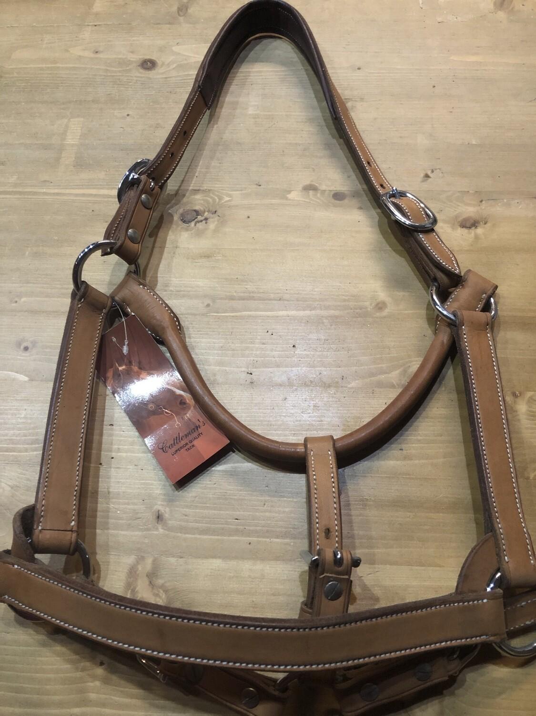 Cattleman's Leather Halter