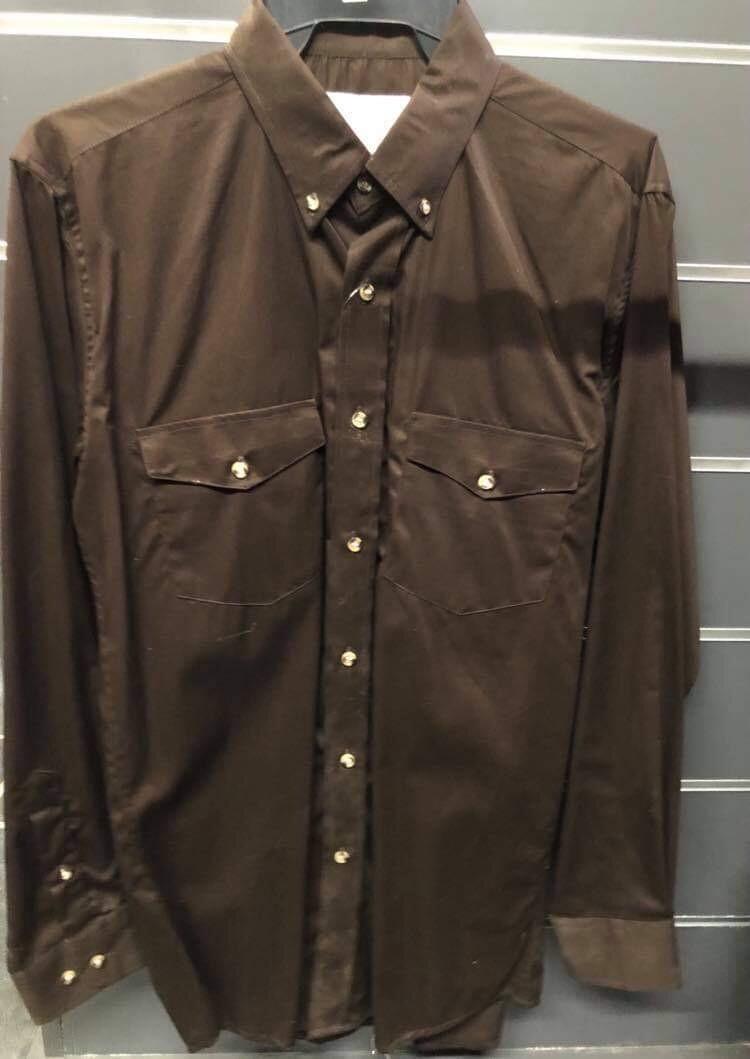 Shirt Men Brown X-Trem Cowboy fashion