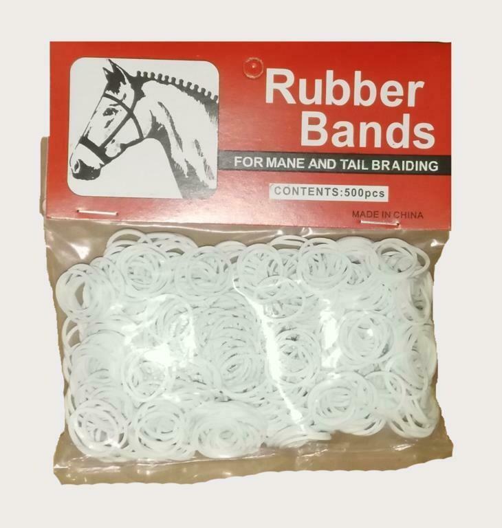Mane Plaiting elastic bands