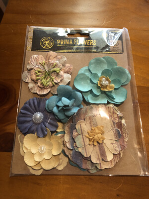 Prima French Riviera Flowers - 10 pieces