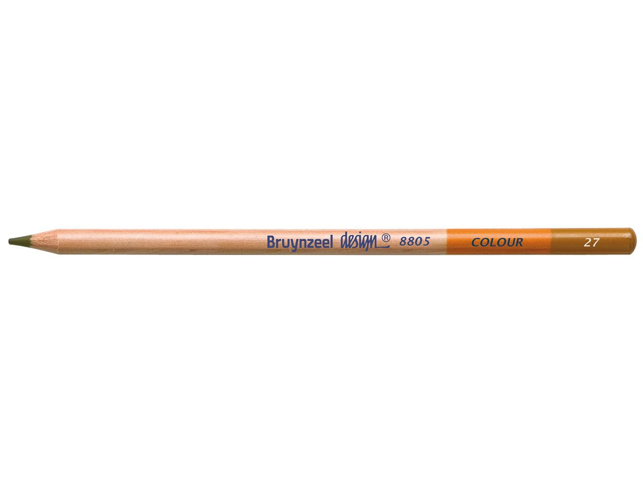 Bruynzeel Pencil - 27 Yellow Ochre