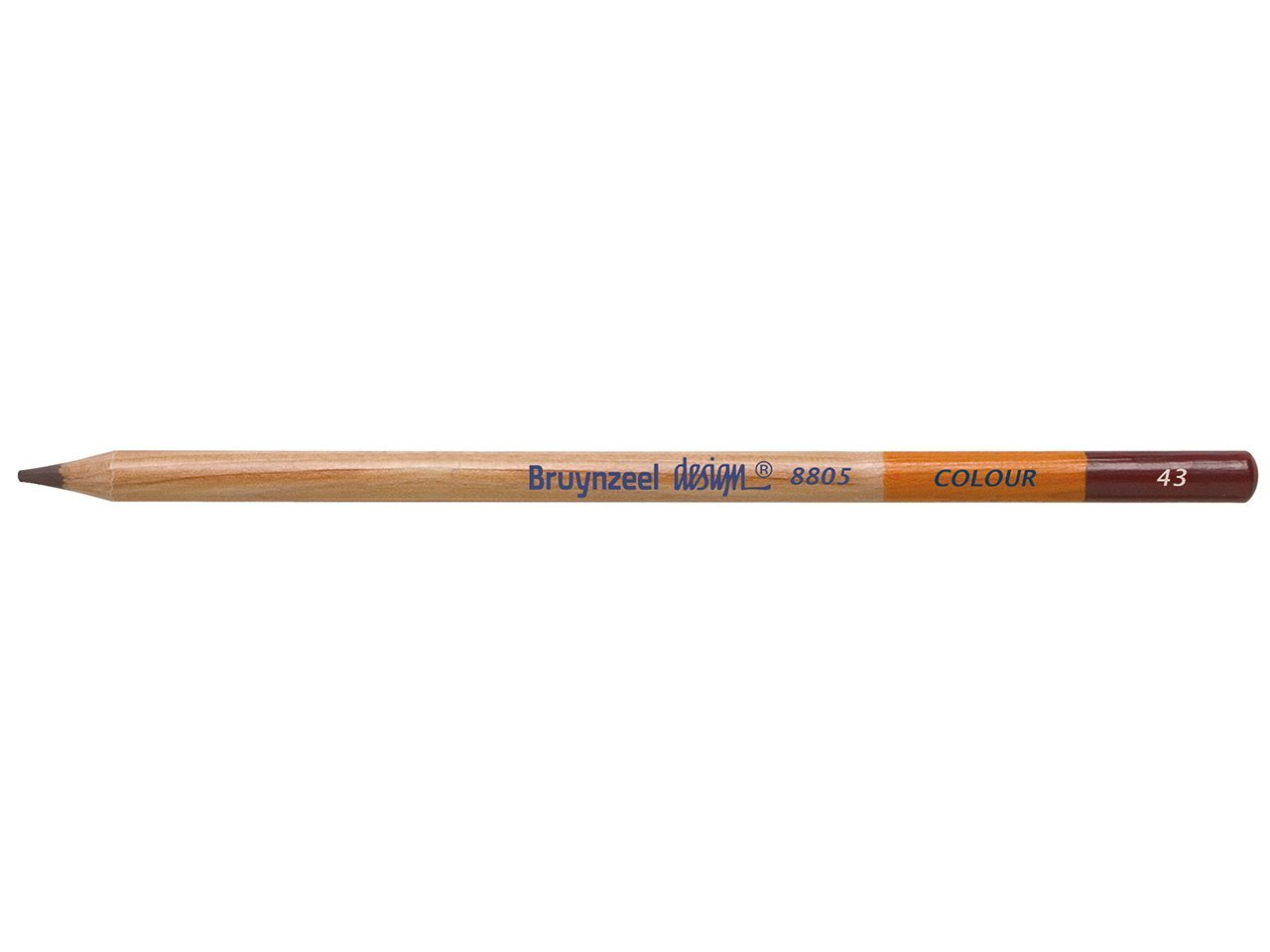 Bruynzeel Pencil - 43 Dark Brown