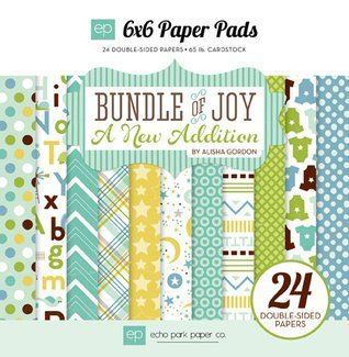 Echo Park 6x6 Paper Pad Bundle of Joy Boy