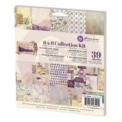 Prima 6x6 Collection Kit-French Riviera