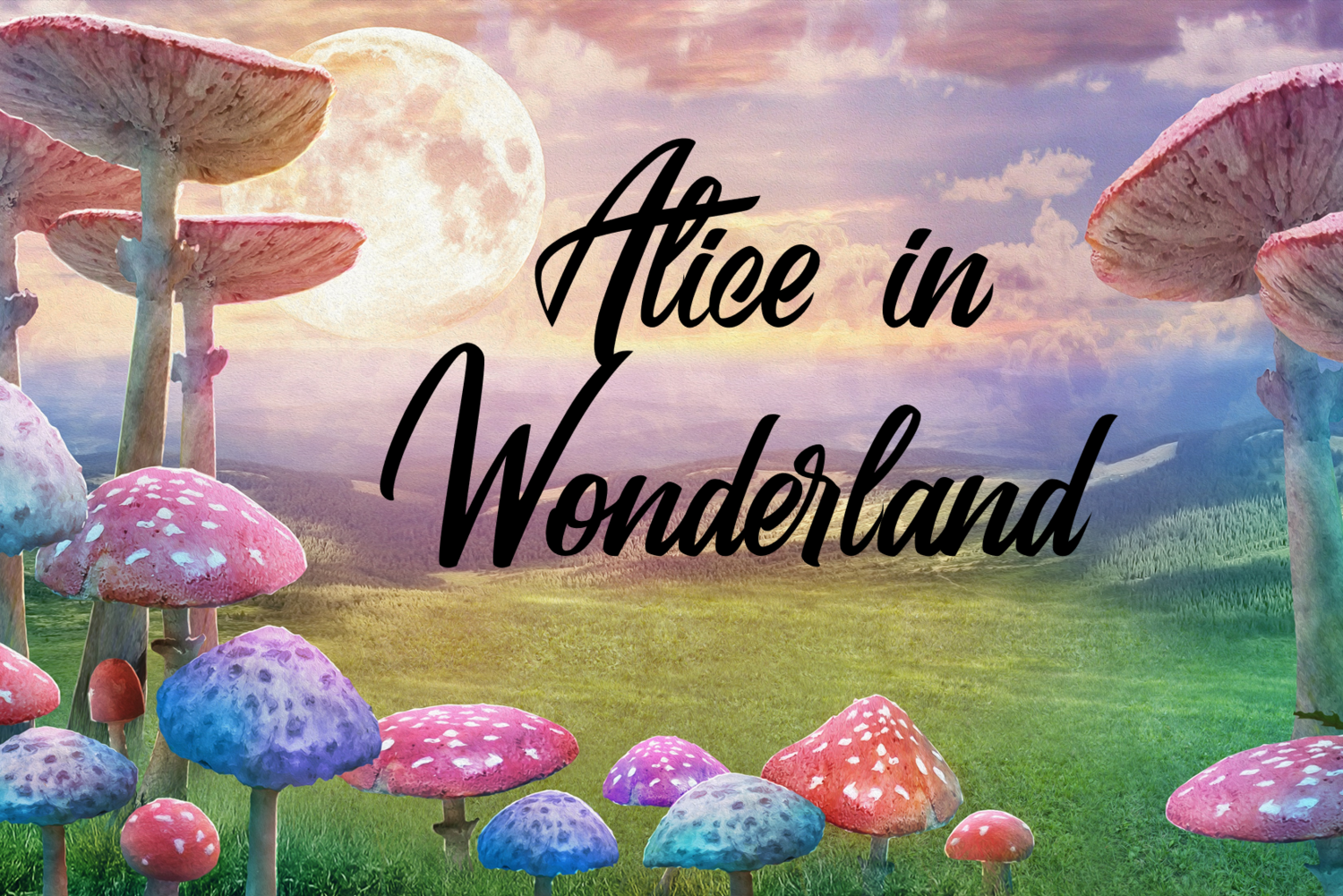 Alice in Wonderland - 3D Audiobook (English Version)