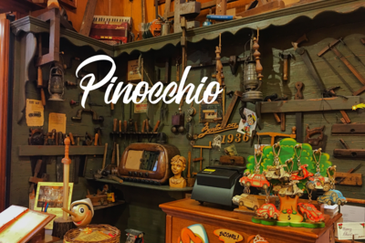 The Adventures of Pinocchio:  The Story of a Puppet 3D Audiobook (English Version)