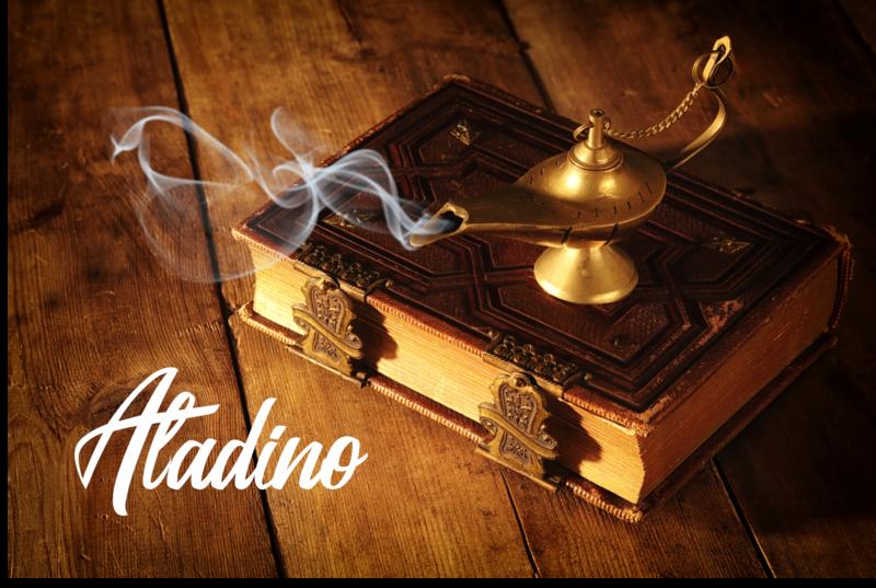 Aladino:  Una historia del libro de Las Mil y Una Noches Audiolibro en 3D (Version en Español)
