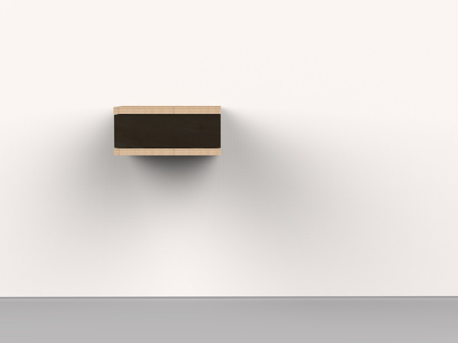 Floating C Side Table