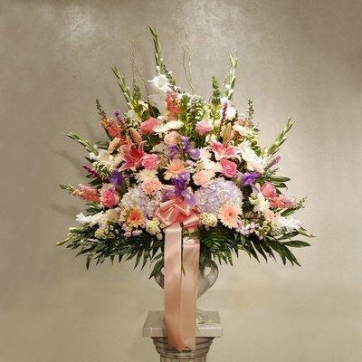 Delicate Pastels - End Vase