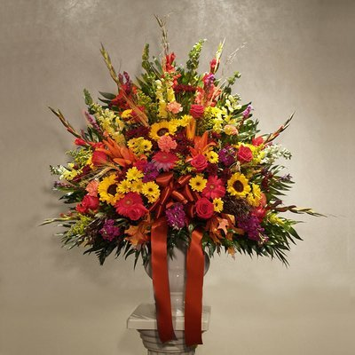 Autumn Harvest - End Vase