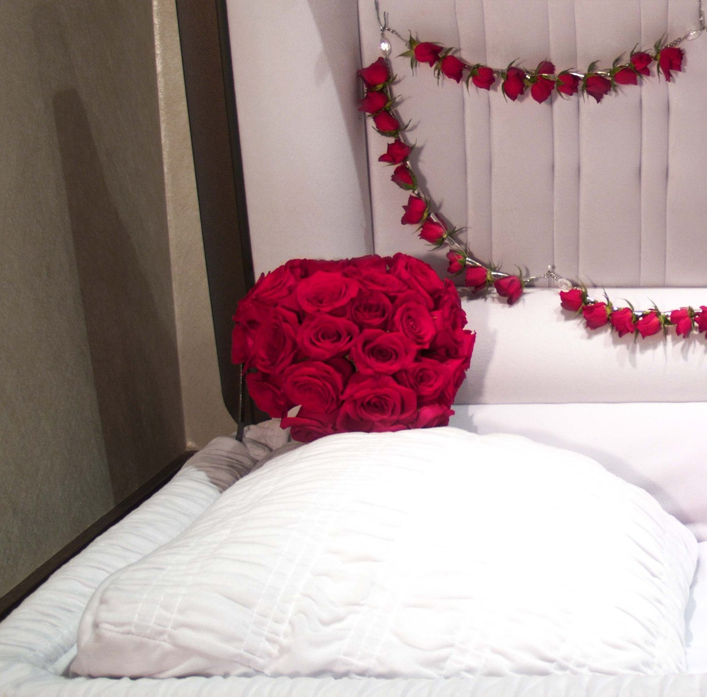 Red Heart Pillow