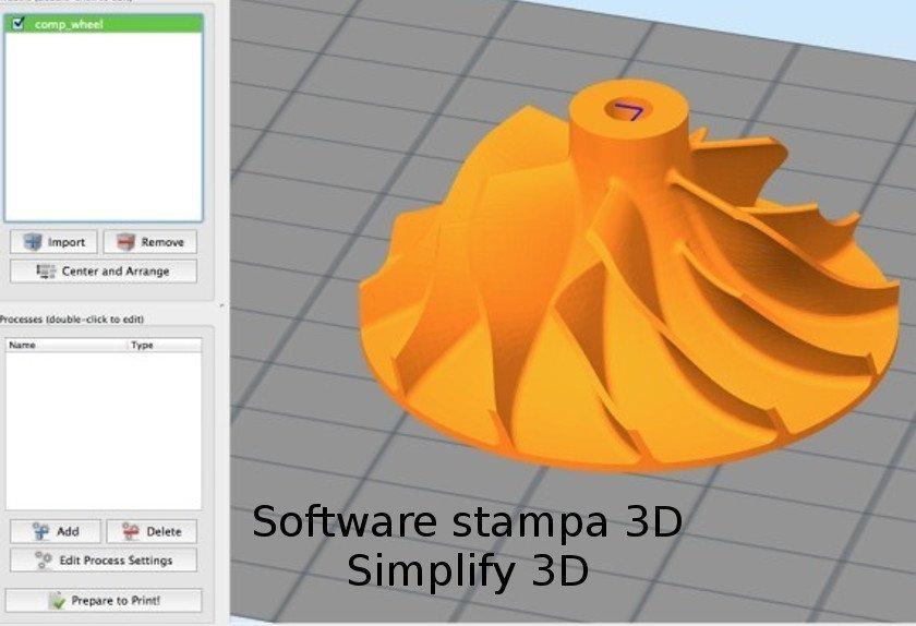 Software 3D Simplify 3D