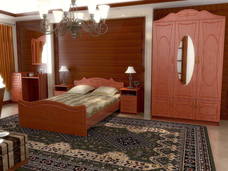 Спальный гарнитур  Ангара - 40