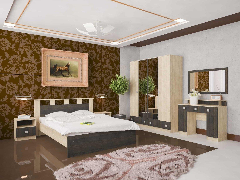 Спальный гарнитур  ГРЕТТА - 2