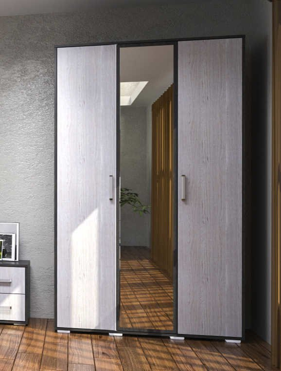 Шкаф 3 двери Вернисаж