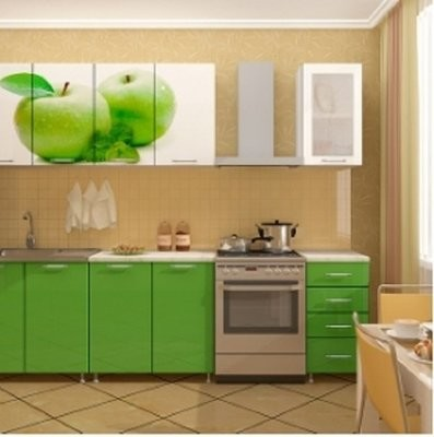 Кухонный гарнитур Яблоко фото
