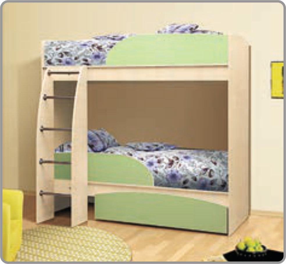 Кровать «Омега» 2-х ярусная