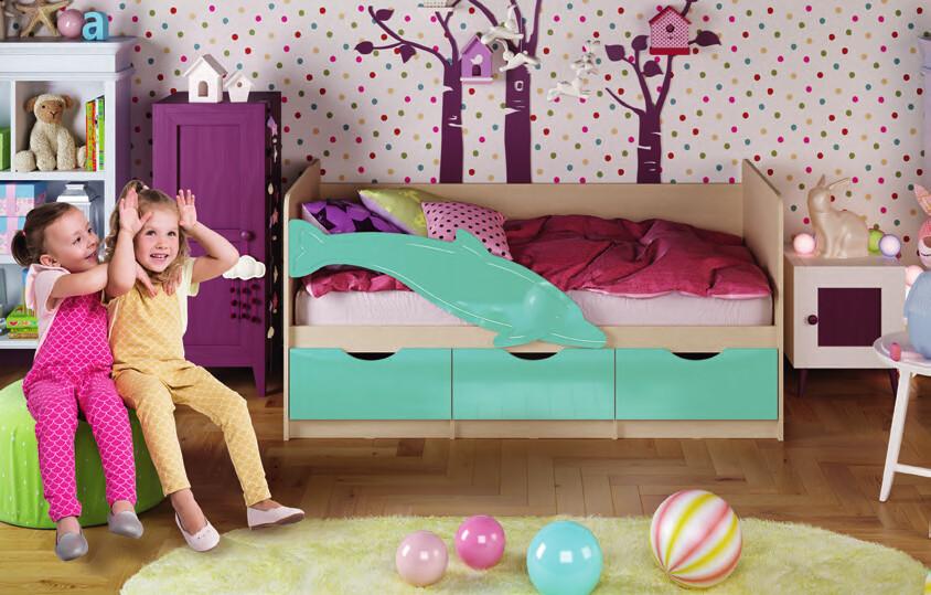 Кровать «ДЕЛЬФИН-1»
