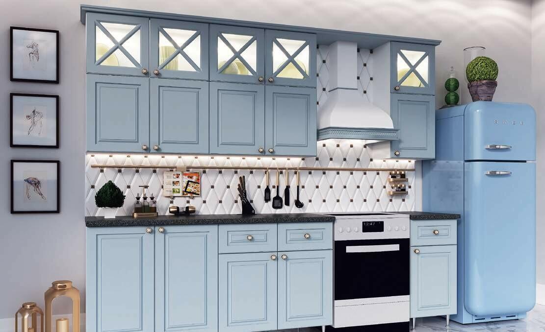 Кухонный гарнитур «Констанция New»(2 м)