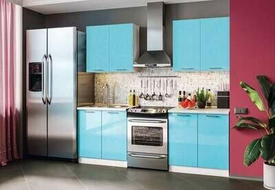 Кухонный гарнитур «Техно»(1,6 м)