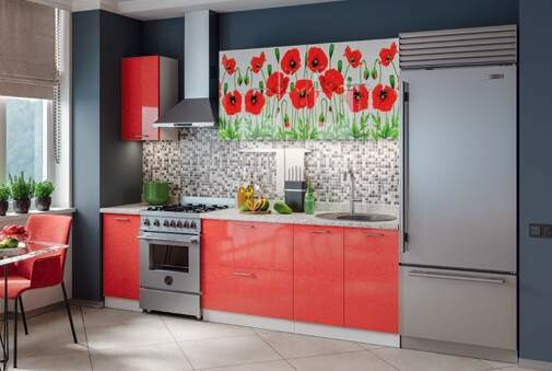 Кухонный гарнитур «Техно Маки»2 м