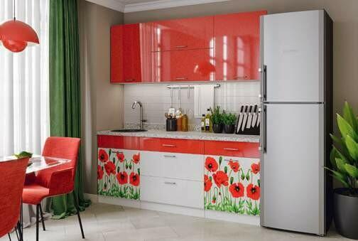 Кухонный гарнитур «Техно Маки»1,8 м