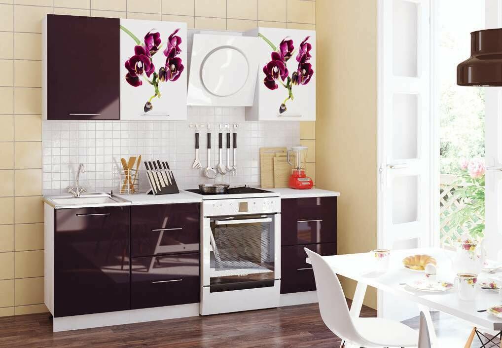 Кухонный гарнитур «Орхидея»(1,7 м)