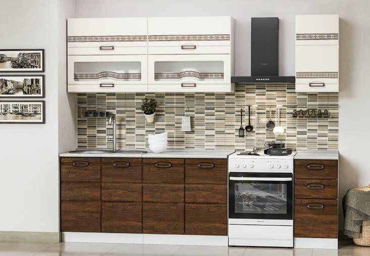 Кухонный гарнитур «Техно-4»(2 м)