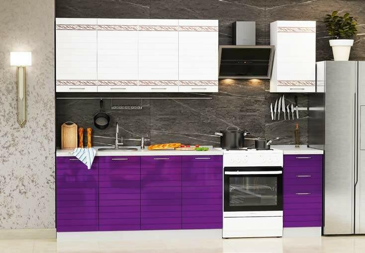 Кухонный гарнитур «Техно-3»(2 м)