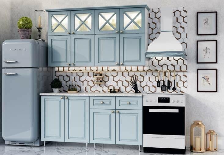 Кухонный гарнитур «Констанция New»(1,6 м)