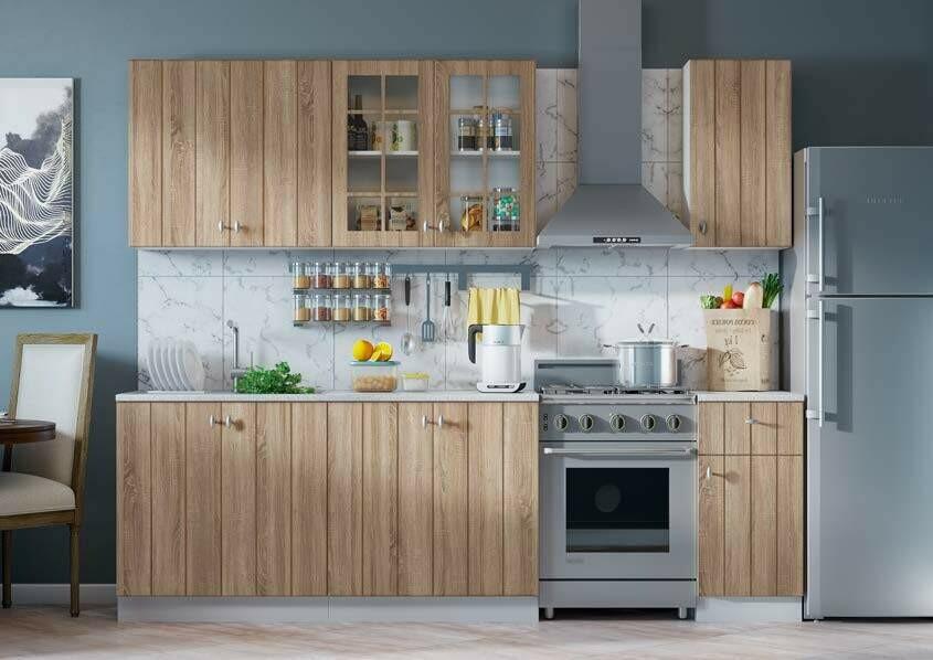 Кухонный гарнитур «Техно-1»(2 м)
