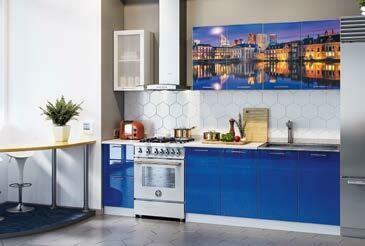Кухонный гарнитур «Техно» Гаага (2 м)