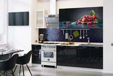 Кухонный гарнитур «Техно Ягоды»(2,0 м)