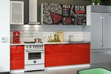 Кухонный гарнитур фотопечать «Пицца»(2 м)