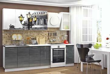 Кухонный гарнитур «Техно Питер»(2,0 м)