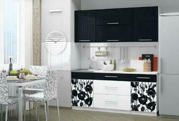 Кухонный гарнитур «Техно» Маки (1,8 м)