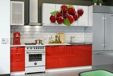 Кухонный гарнитур фотопечать «Вишня» (2 м)