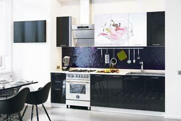 Кухонный гарнитур «Техно Лилия»(2,0 м)